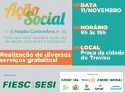 Em Treviso, Sesi oferta ações gratuitas em saúde e recreação