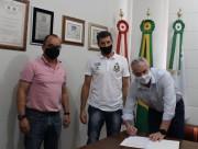 Renovada a parceria entre Governo de Urussanga e Anjos do Futsal