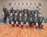 Equipe feminina de Handebol na busca do título estadual