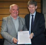 Unisul e Adjori firmam parceria para potencializar os jornais do interior
