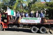 Urussanga completa 142 anos com homenagem e presente entregue em casa