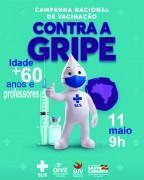 Governo de Urussanga inicia vacinação contra gripe (+ 60anos e professores)