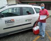 Siderópolis recebe 70 vacinas da AstraZeneca conta a Covid-19