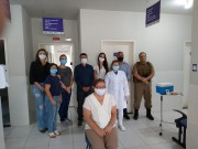 Secretaria de Saúde de Siderópolis inicia vacinação contra a Covid-19