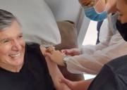 Internos do Residencial Geriátrico Nova Belluno de Siderópolis são imunizados