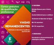 Matrículas abertas para cursos de qualificação profissional no IFSC