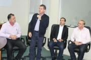 Prefeito e vice participam de reunião da Jacob Westrup