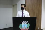Rabelo apresentou pedido de informação sobre despesas relacionadas ao covid-19