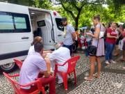 Dia D: 1400 içarenses são vacinados contra a Febre Amarela