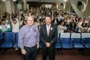 """TRE-SC apresenta campanha """"O Voto é meu"""" no IEE"""