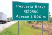 Verão na BR-101 Sul/SC: usuários têm pontos de retorno a cada dois quilômetros