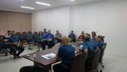 Vereadores de Içara se reúnem com equipe da Secretaria de Saúde