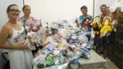 Doação de brinquedos e das bonecas em Morro da Fumaça