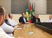 Desenvolvimento do Sul pauta reunião entre empresários e Fiesc