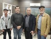Presidente da Câmara de Rincão visita vereador de Araranguá