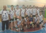 Morro da Fumaça fica em terceiro lugar na etapa do Voleibol Infantil