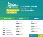Startup Weekend Tubarão acontece neste fim de semana na Unisul