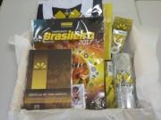 Sócio do Criciúma garante kit de produtos sorteados