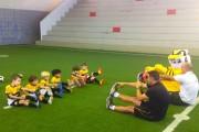 Iniciam as aulas na Escolinha de Futebol do Criciúma