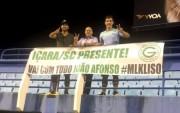 Conterrâneos prestigiam partida do atleta João Afonso