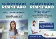 Sindicato lança campanha pelo cumprimento da lei das filas