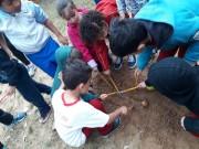 Crianças do CEI Afasc Centro Social Urbano conhecem mais sobre dinossauros
