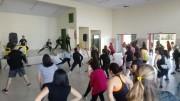 Comunidades da Quarta Linha participam de aulão do Ritmo e Saúde