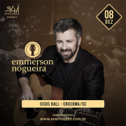 Show com Emmerson Nogueira no Sisos Hall