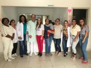 Mulheres de Siderópolis realizam preventivos e exames no Dia D do Outubro Rosa
