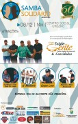 Samba Solidário será no próximo sábado em Siderópolis