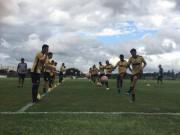 Criciúma se reapresenta com treino no Centro de Treinamento