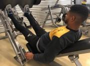 Grupo Carvoeiro treina parte física e técnica