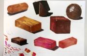 Workshop estimula acadêmicos a trabalhar com texturas