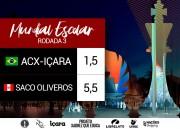Içara sofre primeira derrota no Mundial Escolar de Xadrez