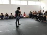 Bailarinos içarenses participam de capacitação em São Paulo