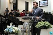 Missionário Dionisio participou do Culto de Missões do templo sede