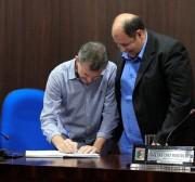 Zé Spilere assume prefeitura de Nova Veneza
