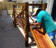 Policial Militar de Araranguá pratica ações sociais em creches da cidade
