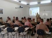 O 19º BPM recebe policiais militares para reforçar o efetivo