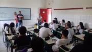 Professores visitam escolas para divulgar início de Projeto Social
