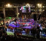 Abertura da 57ª edição dos Jogos Abertos de SC emociona o público