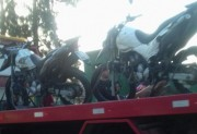 Acidente de trânsito deixa dois policiais feridos em Tubarão