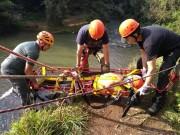 Moradores de Siderópolis aprendem como fazer resgate em montanhas