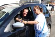 Voluntáiros da AMA realizam Pedágio Solidário em Içara
