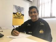 Atacante Andrew renova contrato com o Tigre