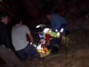 Homem escapa da morte após ser atropelado pelo trem no Jaqueline
