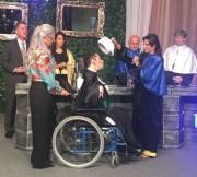 Primeiro Bacharel em Educação Física com paralisia cerebral do Brasil