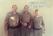 Sargento De Matos se despede da sede do 19º BPM