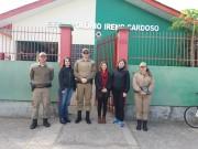 PM realiza consultorias preventivas contra o crime em escolas