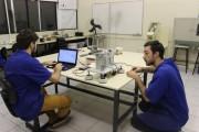 Bancada da Engenharia Mecânica simula voo de avião